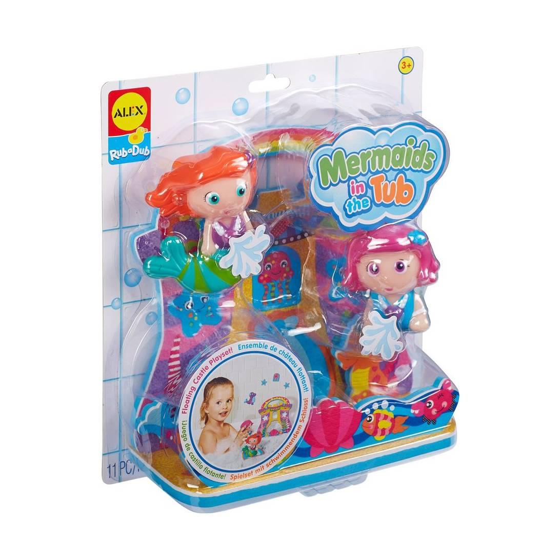 Alex Jura Toys 200010-4 Toys Rub a Dub Mermaids in The Tub Bath Toy