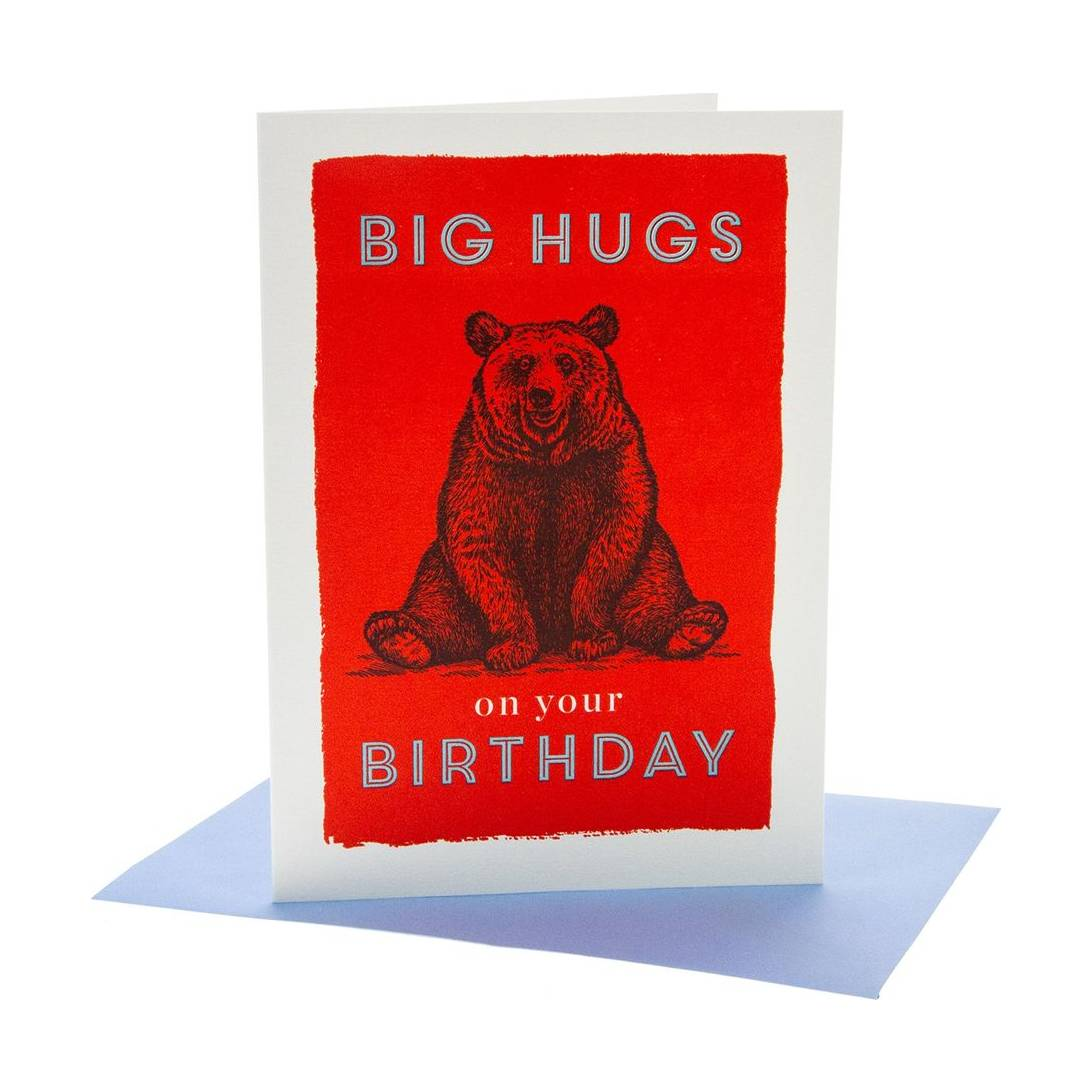 Big Hugs Birthday Card Near Me