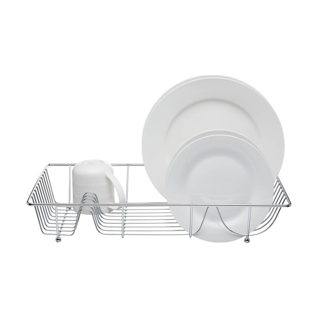 Kitchen Craft Chrome Plated Large Wire Dish Drainer.