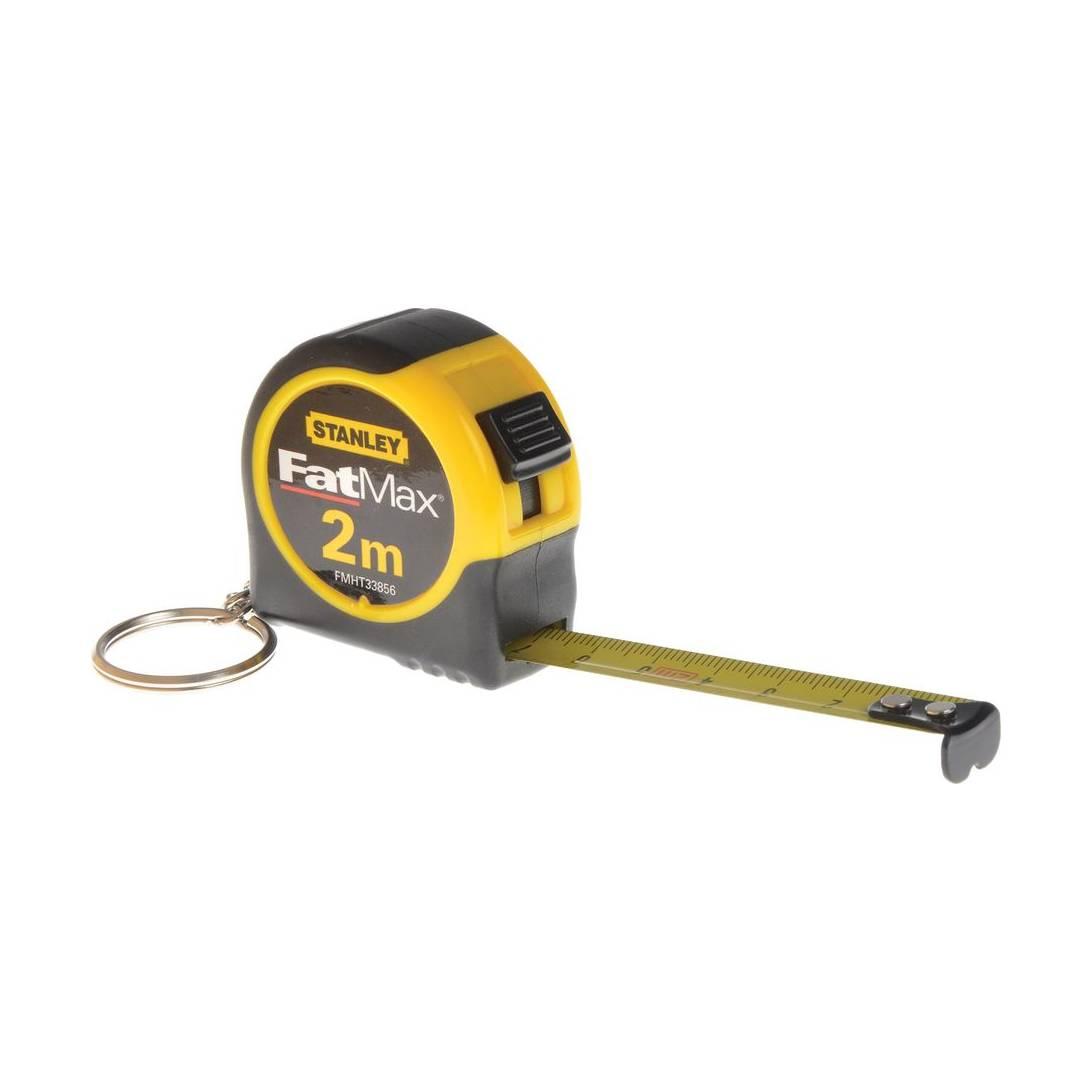 Stanley Keychain Tape Measure 2m
