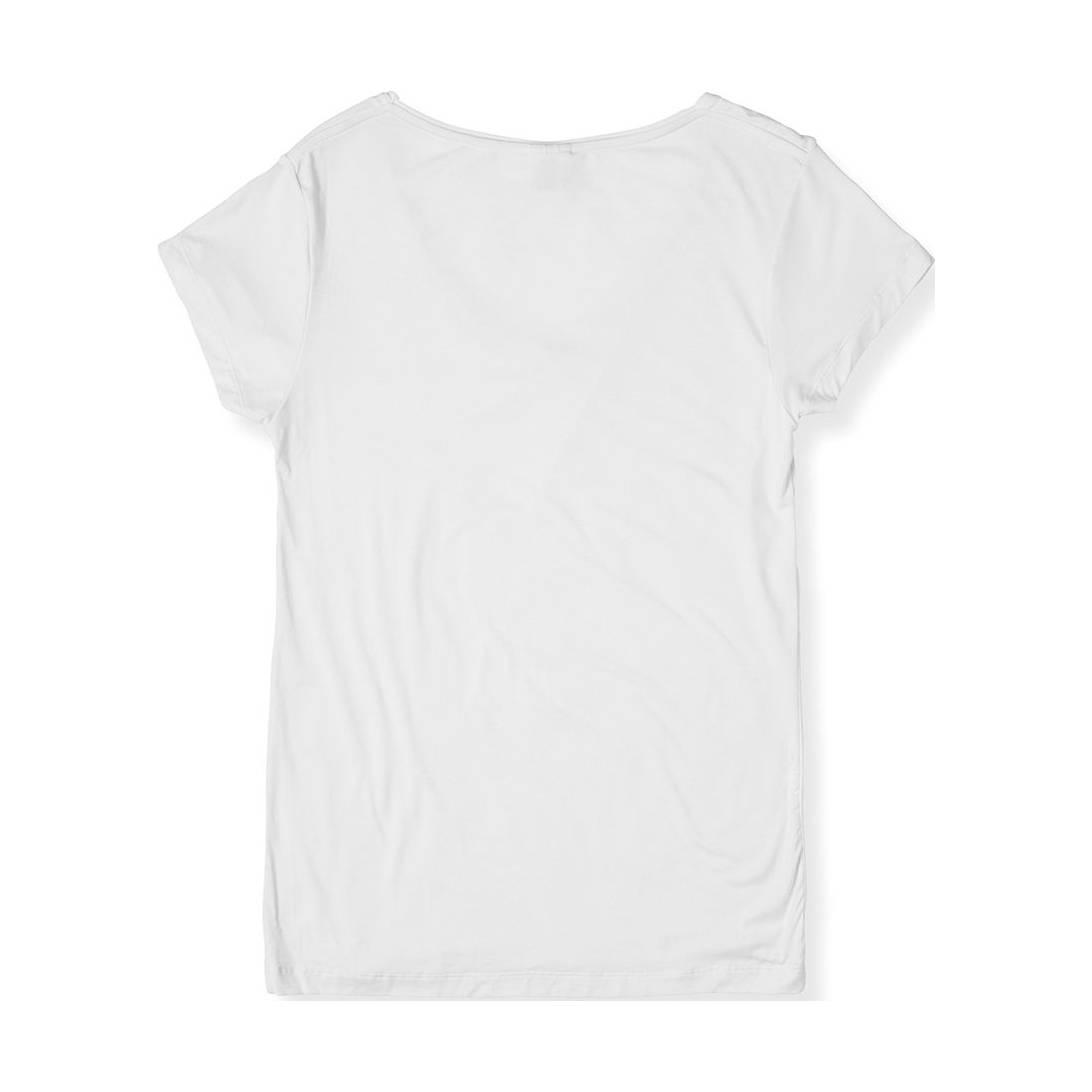 white v neck t shirt womens