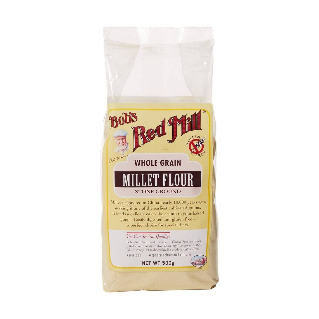 Bob's Red Mill Gluten Free Millet Flour 500 g (Pack of 4 Near Me