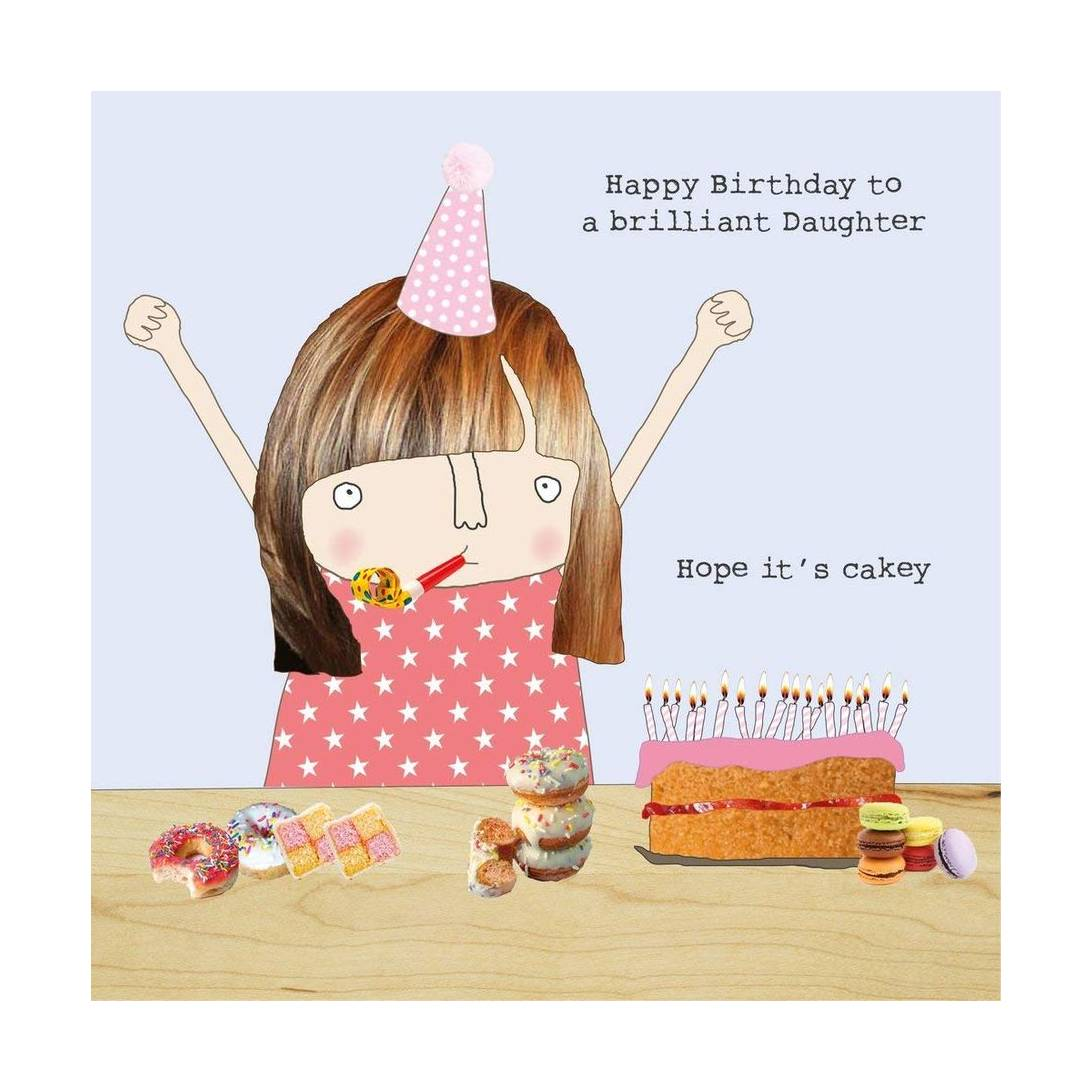 Rosie Made A Thing Fun Daughter Birthday Card
