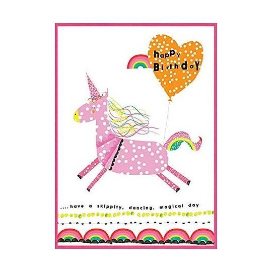 Girls Unicorn Birthday Cards By Cinnamon Aitch PP19 Near Me