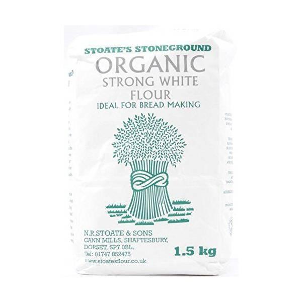 Cann Mill Flours (Organic Strong White Flour 2x1 5kg) Near Me