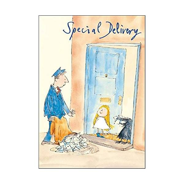 Quentin Blake Special Delivery Birthday Card Popular Range Greetings Cards