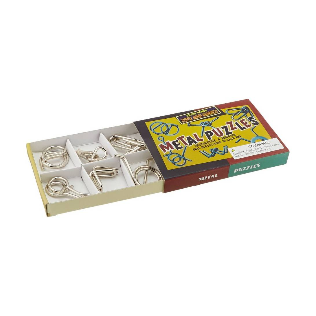 Games Metal Puzzles (New)