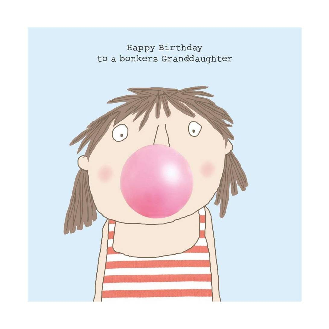 Rosie Made A Thing Granddaughter Birthday Card