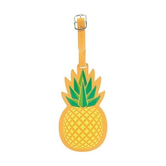Kikkerland Pineapple Luggage Tag (TT38)