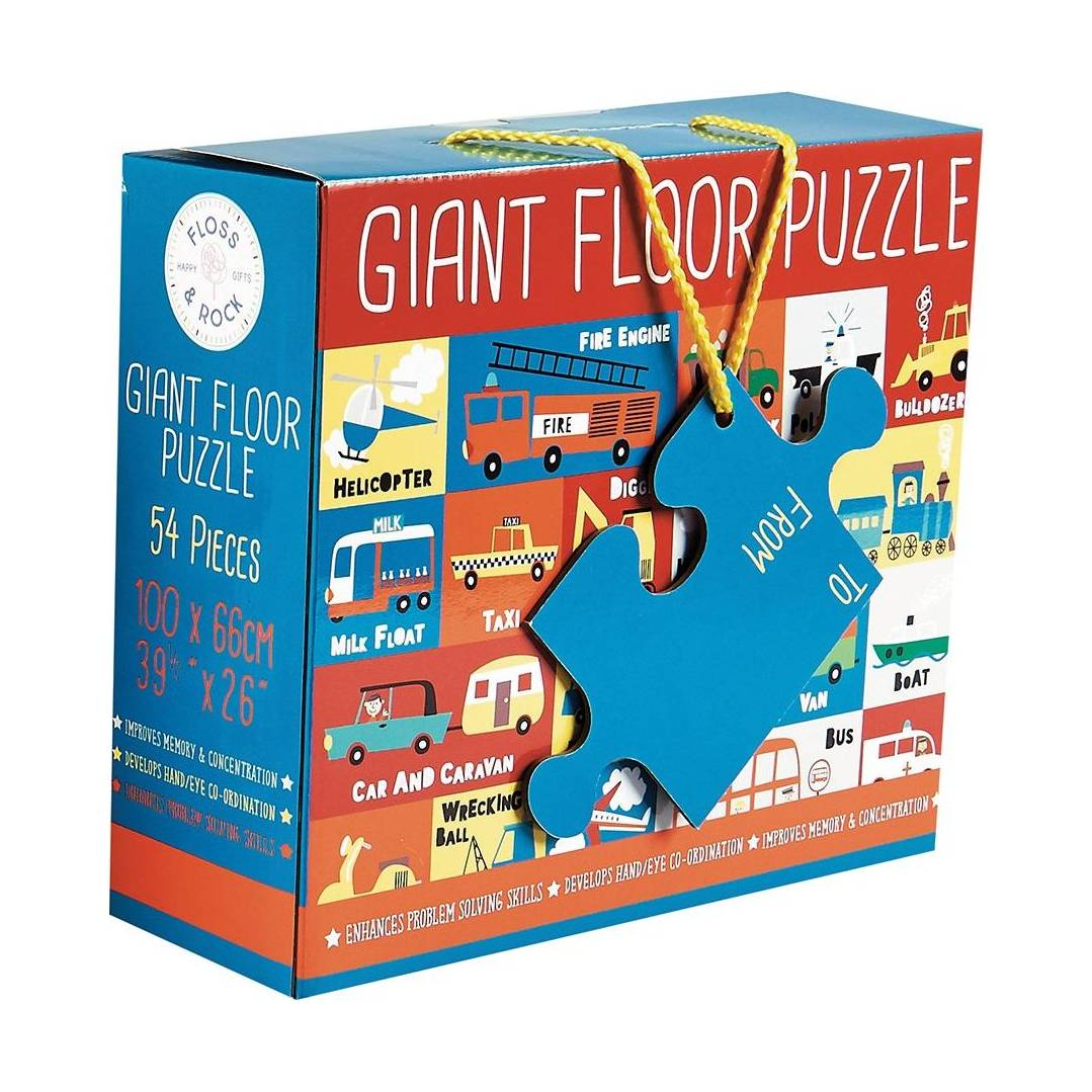 Transport Jigsaw 54PC Giant Floor Puzzle