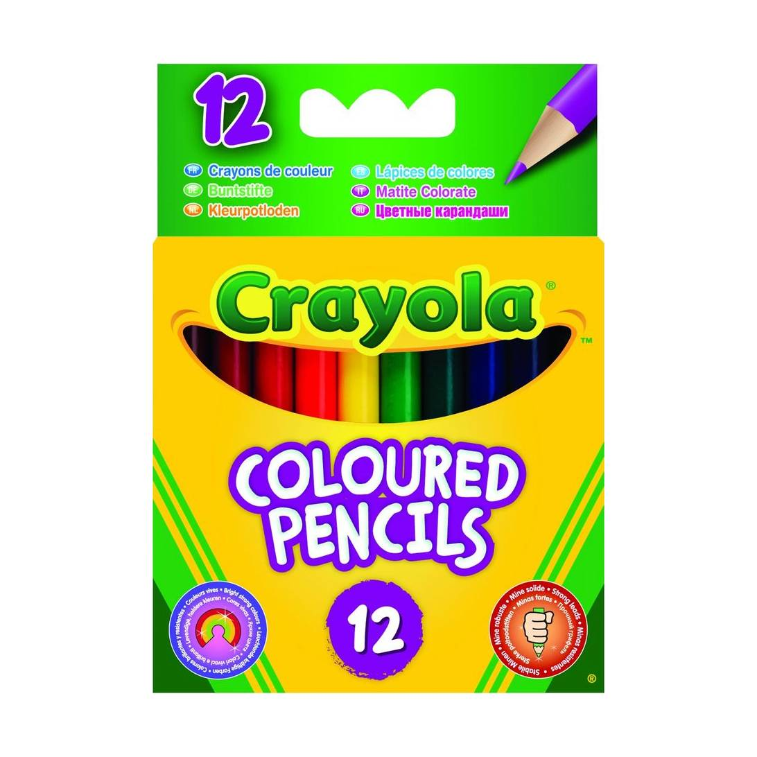 Crayola Anti Dust Chalk Packs Of 12 Colored Or White